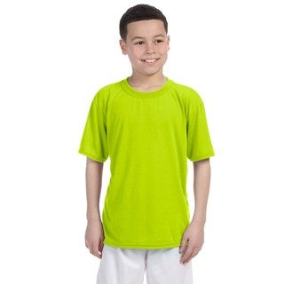 Gildan Youth Safety Green Performance T-shirt