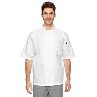 Cool Breeze Chef Men's White Big and Tall Coat|https://ak1.ostkcdn.com/images/products/12557110/P19357692.jpg?impolicy=medium