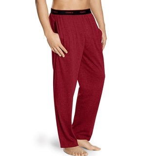 Logo Big and Tall Biking Red Waistband Solid Jersey Pants