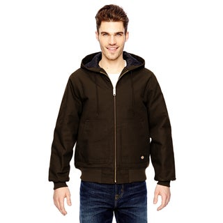 Hooded Duck Men's Chocolate Brown Jacket