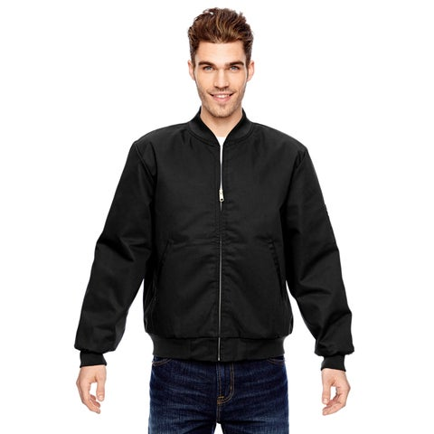 Industrial Insulated Team Men's Big and Tall Black Jacket