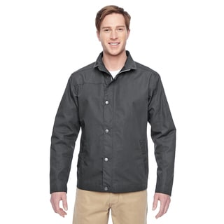 Adult Auxiliary Canvas Work Men's Dark Charcoal Jacket