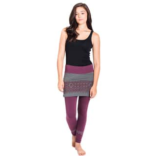 Handmade Organic Cotton Skirted Om Pants (Nepal)|https://ak1.ostkcdn.com/images/products/12557179/P19357561.jpg?impolicy=medium