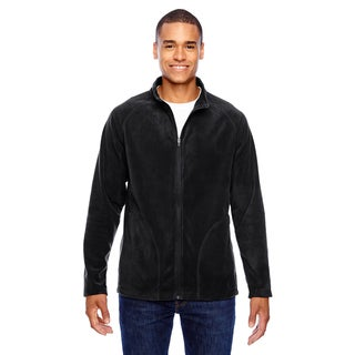 Campus Microfleece Men's Big and Tall Black Jacket