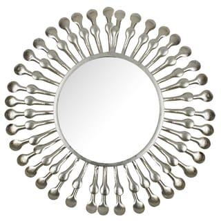 Hobbitholeco Sunburst Decorative Wall Mirror