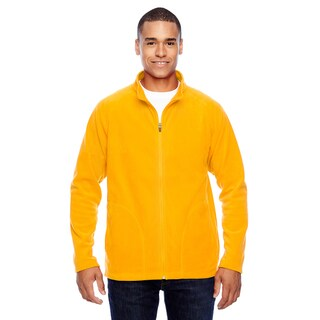 Campus Microfleece Men's Sport Athletic Gold Jacket