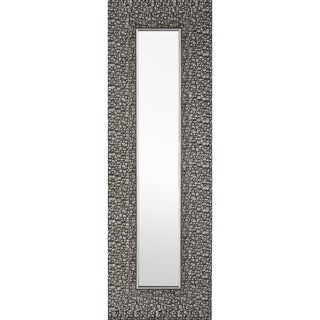 Hobbitholeco 9.25 x 27.75 Designer Accent Mirror (Set of 3) - Silver
