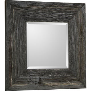 Hobbitholeco Beveled Square Accent Mirror 11X11 (Inner mirror 6X6), Set of 4