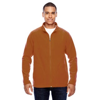 Campus Microfleece Men's Big and Tall Sport Burnt Orange Jacket