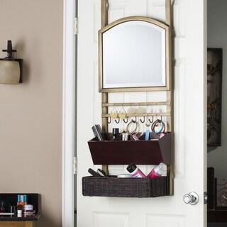 Harper Blvd Chapman Over-the-Door Organizer/ Mirror