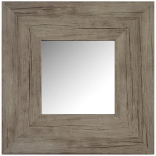 Hobbitholeco Washed Accent Mirror 11X11 (Inner mirror 6X6), Set of 4