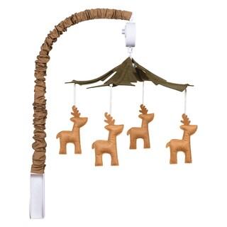 Trend Lab Green/Brown Deer Lodge Musical Mobile
