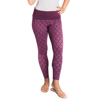 Organic Cotton Athletic Om Yoga Leggings (Nepal)