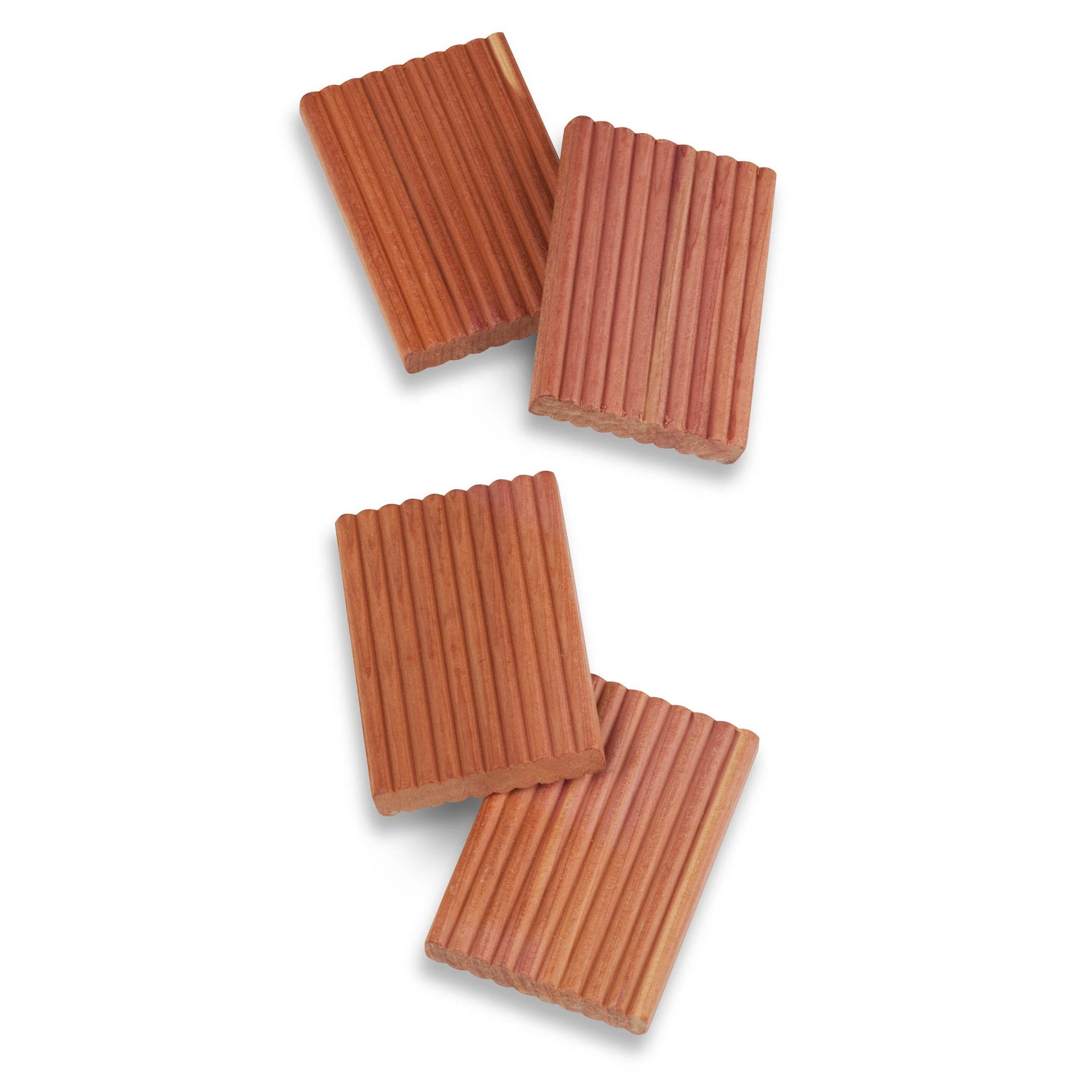 "Honey-Can-Do HNG-03470 2.75"" X 2"" Cedar-Lavender Blocks 4..."
