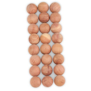Honey Can Do HNG-01969 Natural Red Cedar Balls 24-count
