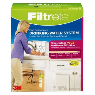 Filtrete Air Purifiers 4US-MAXL-S01 Filtrete High Performance Drinking Water System