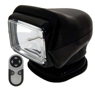GoLight Stryker Black Wireless Handheld Magnum Base Spotlight
