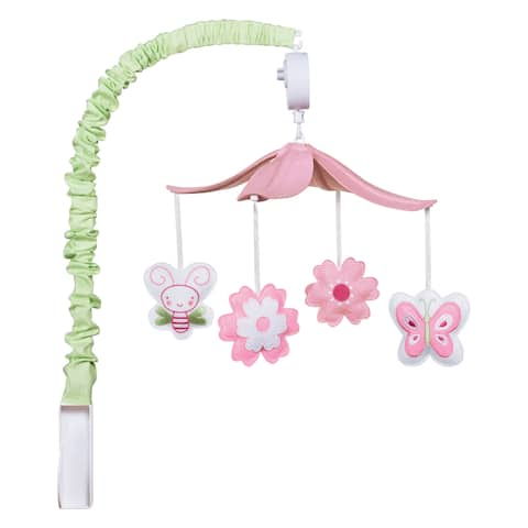 Trend Lab Floral Musical Mobile