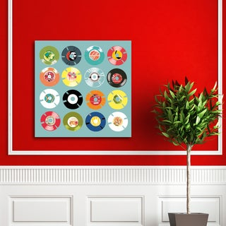 Michael Cheung '45 RPM' Canvas Print Wall Art