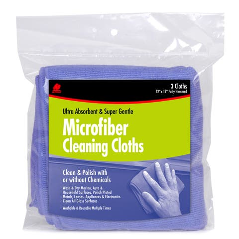 Buffalo 64000 3-count Microfiber Cleaning Cloths