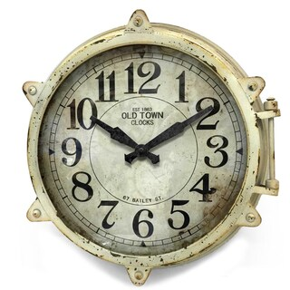 Infinity Instruments High Seas 18-in Wall Clock