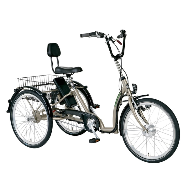 PFIFF Comfort Electric Adult Tricycle with 24 inch wheels and Asmann motor