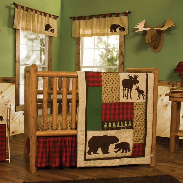 Shop Trend Lab Northwoods 6 Piece Crib Bedding Set