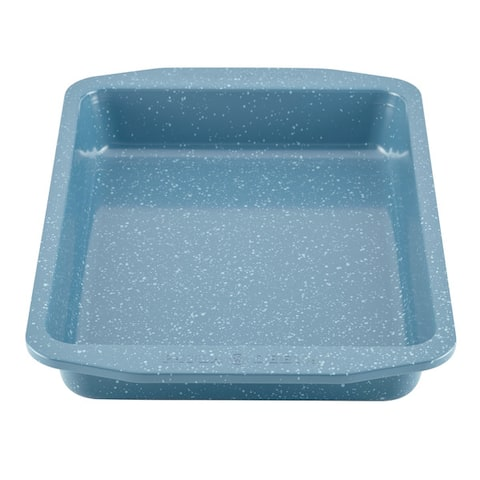 Paula Deen(r) Speckle Nonstick Bakeware 9-Inch x 13-Inch Covered Rectangle Cake Pan