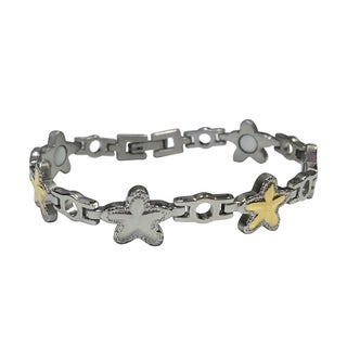 Stainless Steel Magnetic Therapy Starfish Bracelet