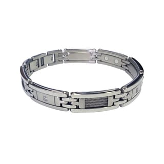 Magnetic Therapy Link-style Cable Bracelet