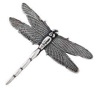 Sterling Silver Dragonfly Brooch Pin