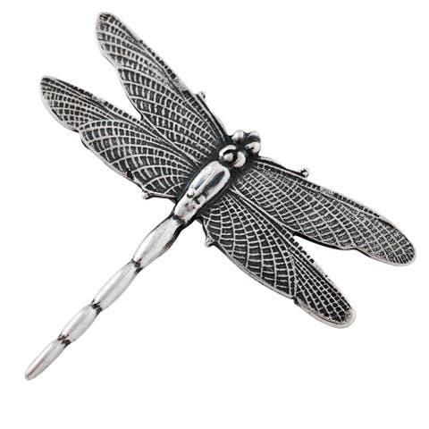 Sterling Silver Dragonfly Brooch Pin