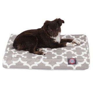 Majestic Pet Trellis Orthopedic Memory Foam Rectangle Dog Bed