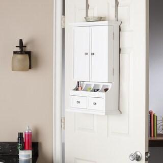 Clay Alder Home Glen Over-the-Door Makeup/ Jewelry Storage