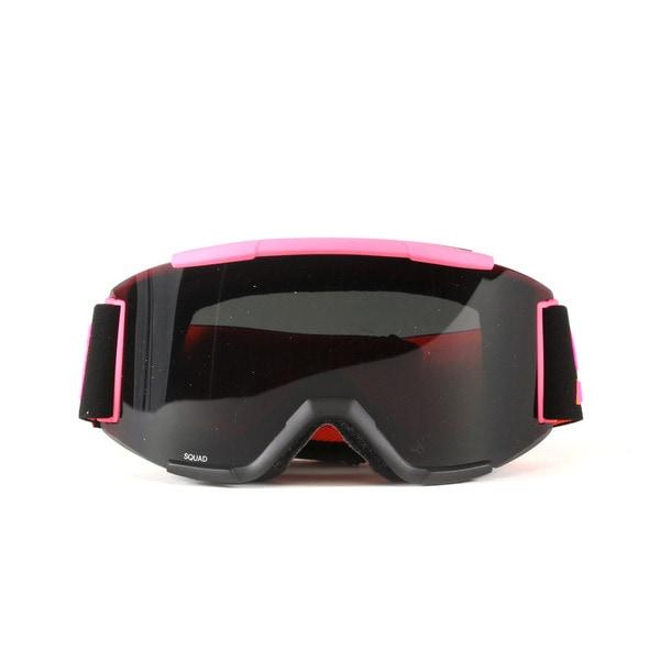 Smith Optics Squad Cylindrical Blackout Stevens ID Goggles