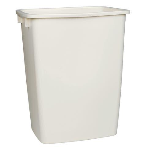 Rubbermaid FG2806TPBISQU 36 Qt Bisque Open Wastebasket