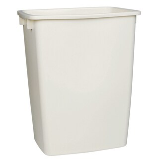 Rubbermaid FG2806TPBISQU 36 Qt Bisque Open Wastebasket