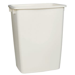 Rubbermaid FG2806TPWHT 36 Quart White Open Wastebasket
