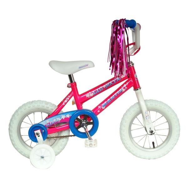 Mantis Lil' Maya Kid's Bicycle Girl's Pink 12-inch wheel 8-inch Frame Bike