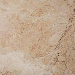 Rosalia Pink Marble Polished and Beveled Tile