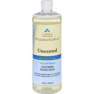 Clearly Natural Liquid Glycerin Unscented Natural 32-ounce Hand Soap