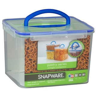 Snapware 1098436 29 Cup Large Rectangle Storage Container With Handle