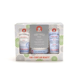 First Aid Beauty FAB Faves to Go 3-piece Kit