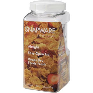 Snapware 1098534 15 Cup Large Air Tight Canister|https://ak1.ostkcdn.com/images/products/12557665/P19358097.jpg?impolicy=medium