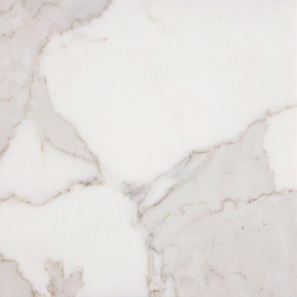 italian Calacatta Gold White Marble 3 x 6 x 3/8-inch Polished Tiles (Case of 50). Opens flyout.