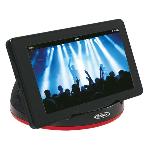 Spectra Mechandising SMPS-182 Portable Stereo Speaker With Built In Amp & Auxiliary Cable