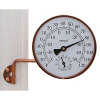 "Conant TH6LFC 4-1/4"" Copper Weather Station"