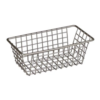 "Spectrum Diversified 17277 3"" X 6"" Stainless Steel Grid Tray Organizer"