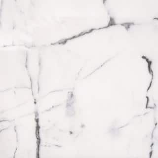 Italian Statuario Venato White and Grey Marble 12-inch x 24-inch Polished Beveled Tile|https://ak1.ostkcdn.com/images/products/12557710/P19358144.jpg?impolicy=medium
