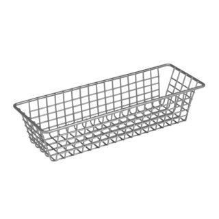 "Spectrum Diversified 17377 3"" X 9"" Stainless Steel Grid Tray Organizer"